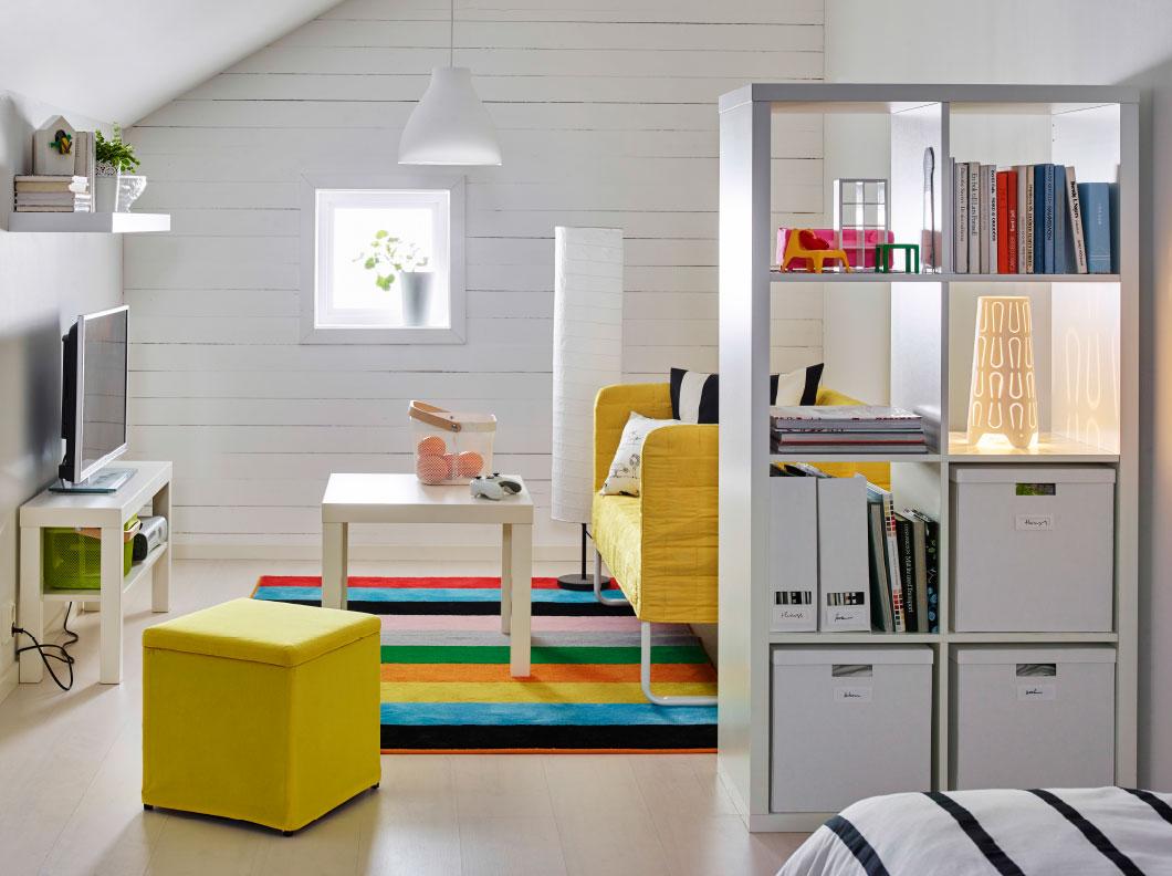 estantería mallas de Ikea, para decorar tu casa. Si necesitas una mano descarga Jobin