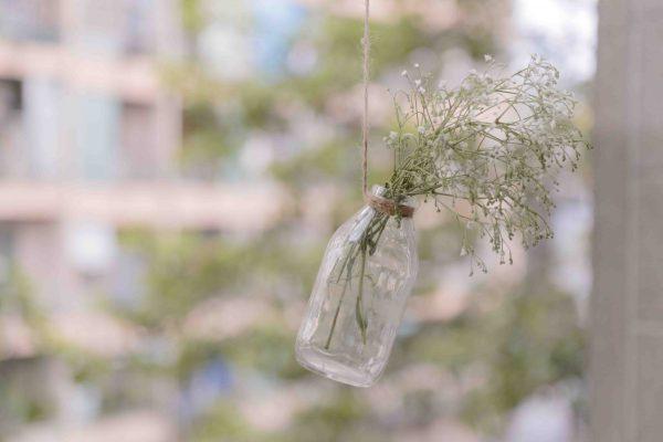 Decoración botella verano