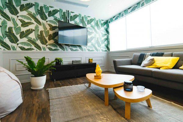 decoración tropical hogar