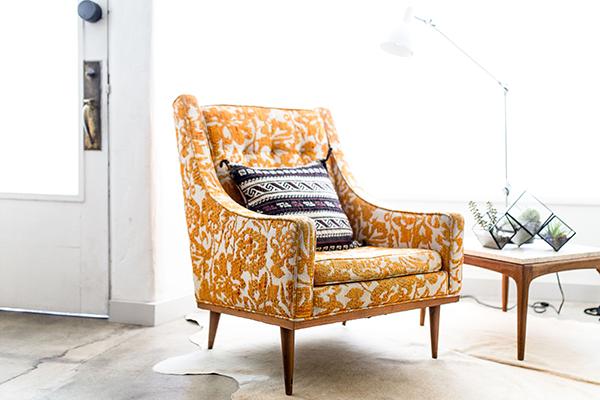 hogar natural sillón