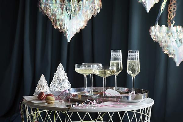 cristalería Ikea navidad
