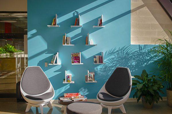 habitación sillas color