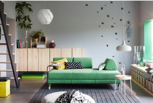 Decorar el salón Ikea