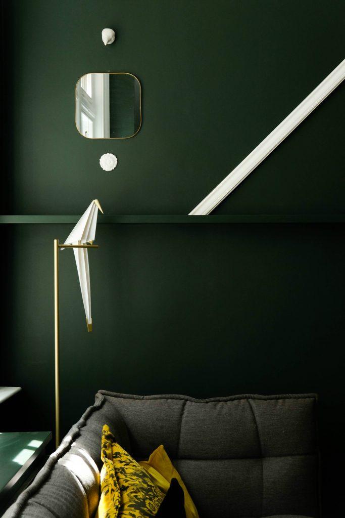 Pintar la casa según tu personalidad verde